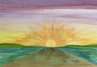 The Road Into The Sun